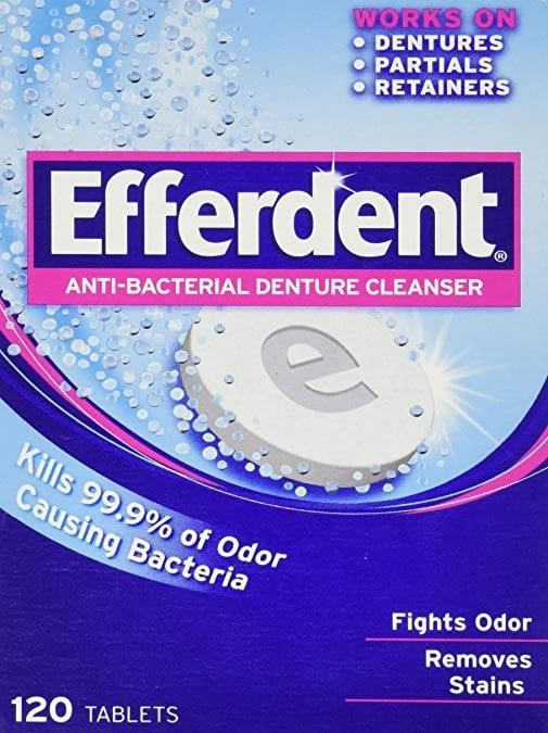 Efferdent Anti-Bacterial Cleanser